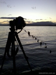 Sunset photography courses Tasmania