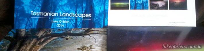 2014 Tasmanian Landscapes Calendar