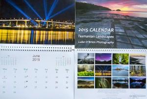 2015 Tasmanian Landscapes Calendar