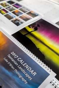 2017 calendar tasmanian landscapes Luke O'Brien Photography