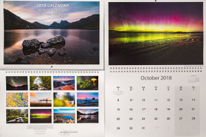 2018 calendar tasmania