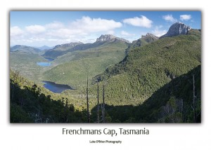 Frenchmans Cap from Barrons Pass