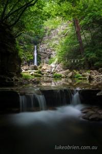 Akagawa Falls Fukushima Japan