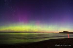 Aurora Australis Southern Lights Tasmania
