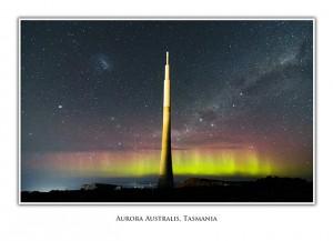 Aurora Mt Wellington Tasmania