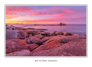 Bay of Fires - Sunset, Picnic Rocks