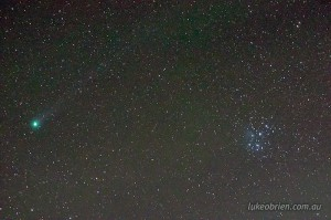 Comet Lovejoy Tasmania Jan 16 2015