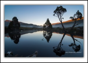 Tarn and Pencil Pines, Cradle Valley