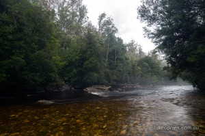 Franklin River, Frenchmans Cap Track Tasmania