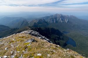 Frenchmans Cap summit Tasmania
