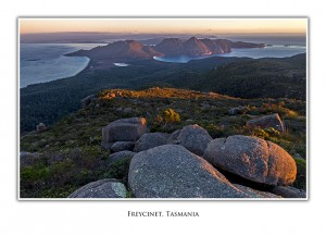 Freycinet Mt Graham Wineglass Bay