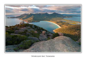 Greeting Cards - Wineglass Bay, Tasmania