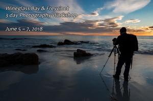 Sunrise, Friendly Beaches. Freycinet Photography Workshop