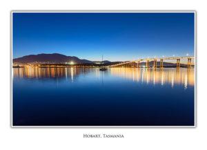 Hobart & Tasman Bridge skyline