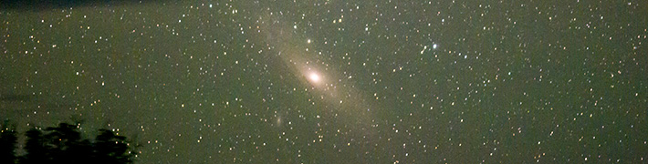 Andromeda Galaxy – Lake St Clair, Tasmania