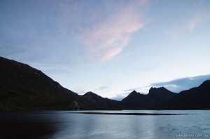 Dusk at Dove Lake