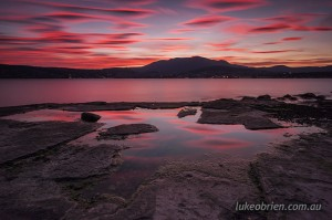 Magnificent Hobart Sunset Shoot March 4 2014