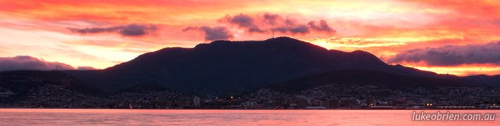 Hobart & Mt Wellington