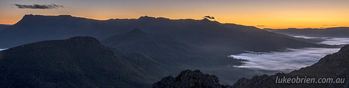 Sunrise The Needles Tasmania