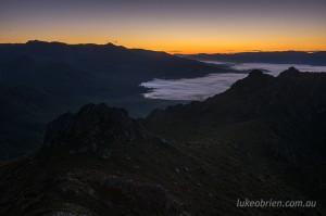 The Needles Tasmania. Sunrise.