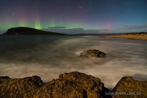 Southern Lights Tasmania 2014: South Arm April 21