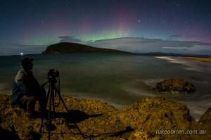 Aurora Australis Tasmania 2014: South Arm April 21