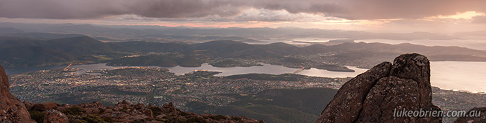 Photography at Hobart's Mt Wellington