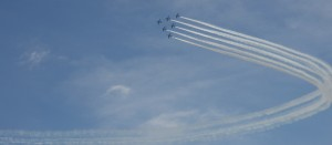 Fukushima Rokkonsai 2013: Blue Impulse Airshow