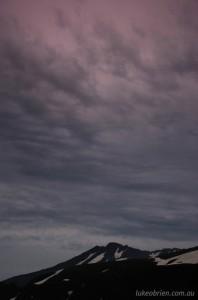 Dusk, Mt Chokai