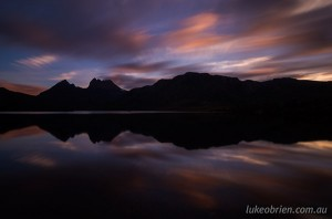 Cradle Mountain Photography Workshop - Dusk shoot at Dove Lake