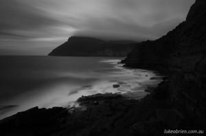 Maria Island, Fossill Cliffs