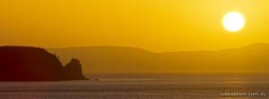 Sunrisefrom the Neck Bruny Island