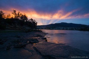 Sunset, MONA, Hobart