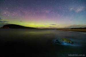 Aurora Australis 2013: South Arm September 24.