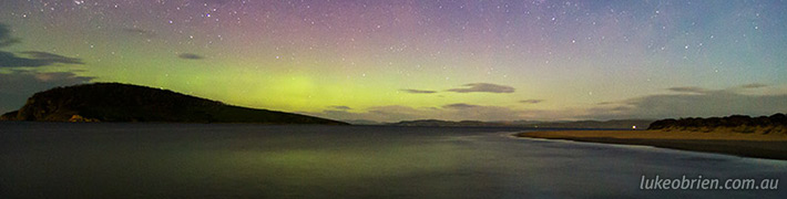 Aurora Australis 2013, Lauderdale & South Arm Tasmania