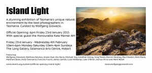 Island Light Landscape Photography Exhibition Tasmania