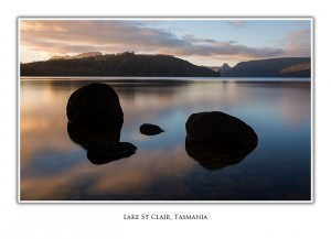 Lake St Clair Tasmania Greeting Card