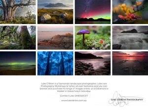 2014 Tasmanian Landscapes Calendar by Luke O'Brien
