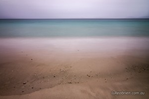 Maria Island long exposure seascape