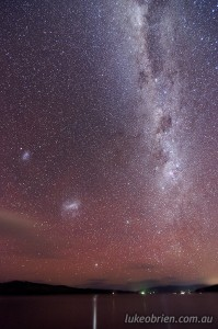 Milky Way, Pentax Astrotracer & Aurora Australis