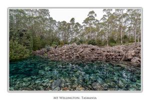 Disappearing Tarn, Mt Wellington