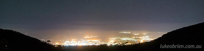 Night Sky Photography Tasmania: October 21-22 2014
