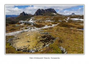 Overland Track Cradle Mountain Greeting Card