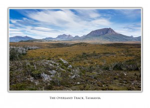 Greeting Cards - The Pelion Mountains on Tasmania's Overland Track