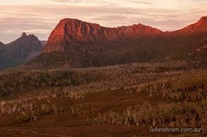 Sunrise, Overland Track, Tasmania