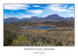 Overland Track Lake Windermere Postcard