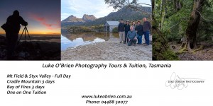 Photography Tours Tasmania Luke OBrien Photography