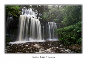 Russell Falls at Mt Field National Park