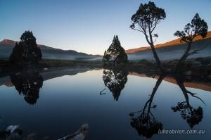 Sunrise Cradle Mountain Ronney Creek