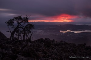 Sunrise Mt Wellington Hobart